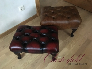 Nauji chesterfield pufai